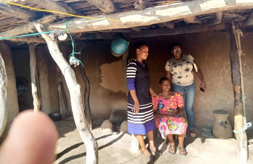 Elizabeth – dry after 14 years of suffering from obstetric fistula