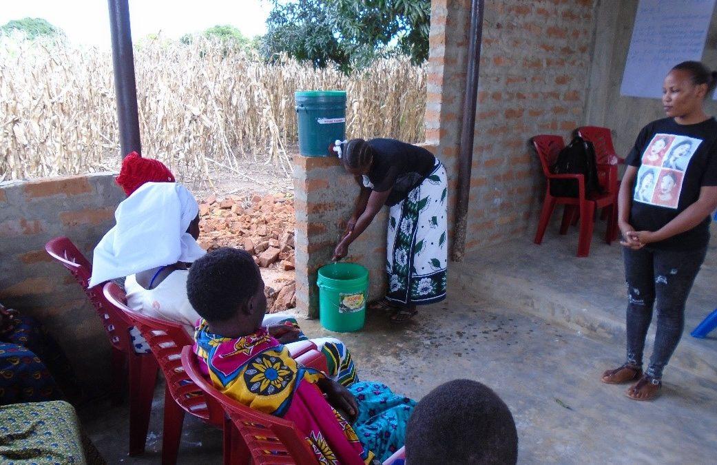 Community outreach: Maternity Africa provides basic health education