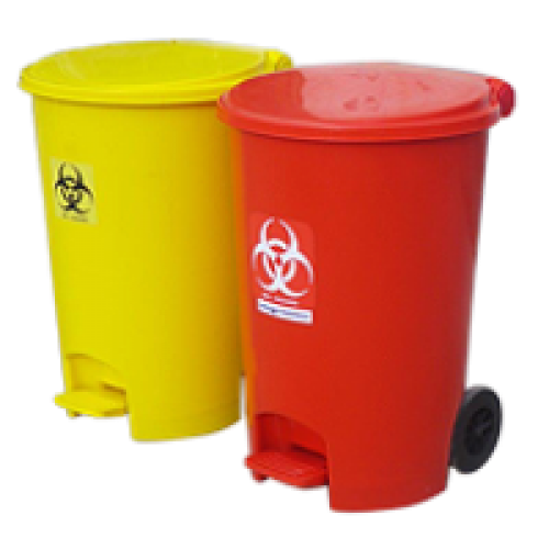 Variety of Colour Coded Flip-top and Pedal Bins