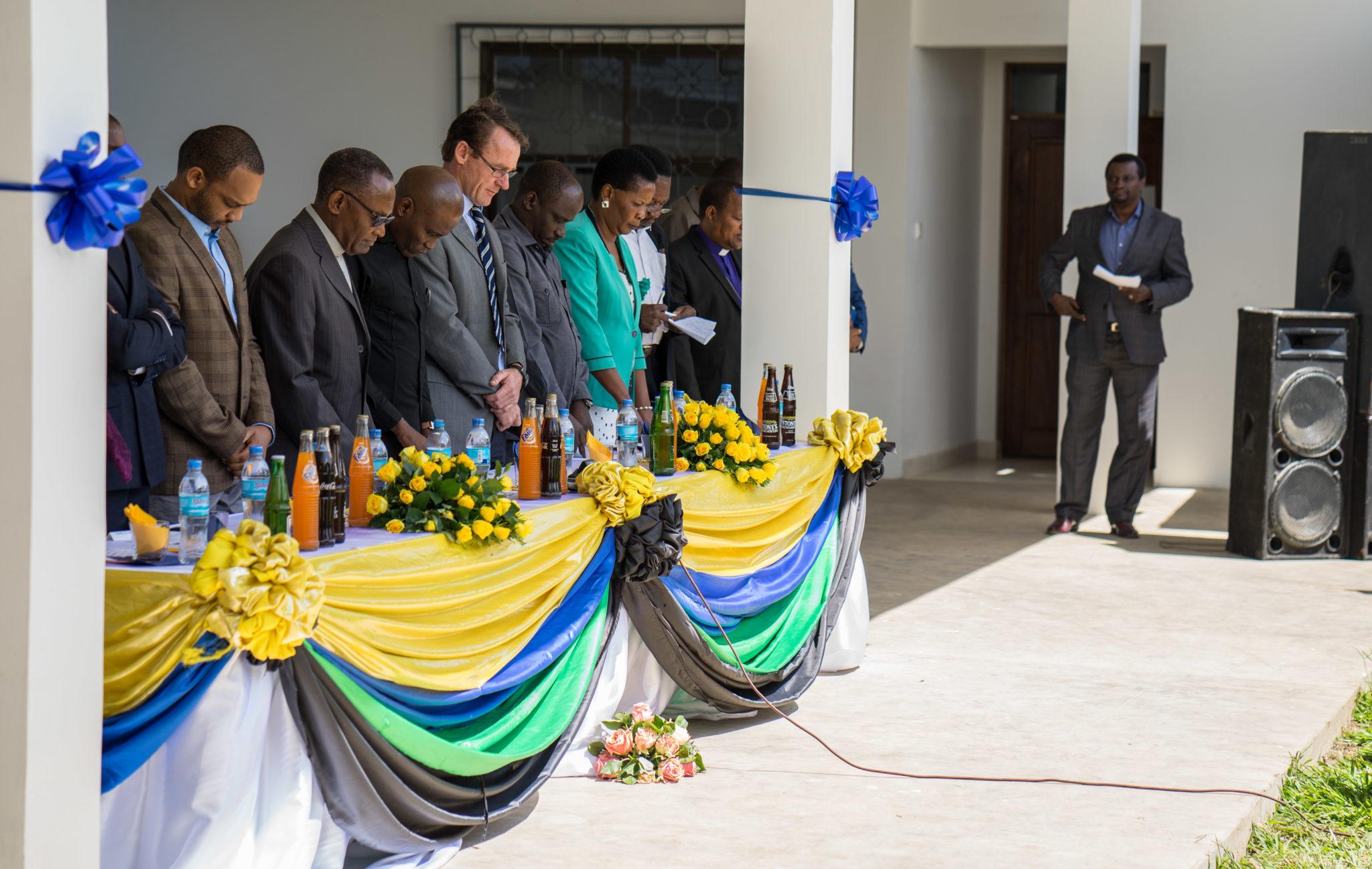 Kivulini Maternity Centre  grand opening