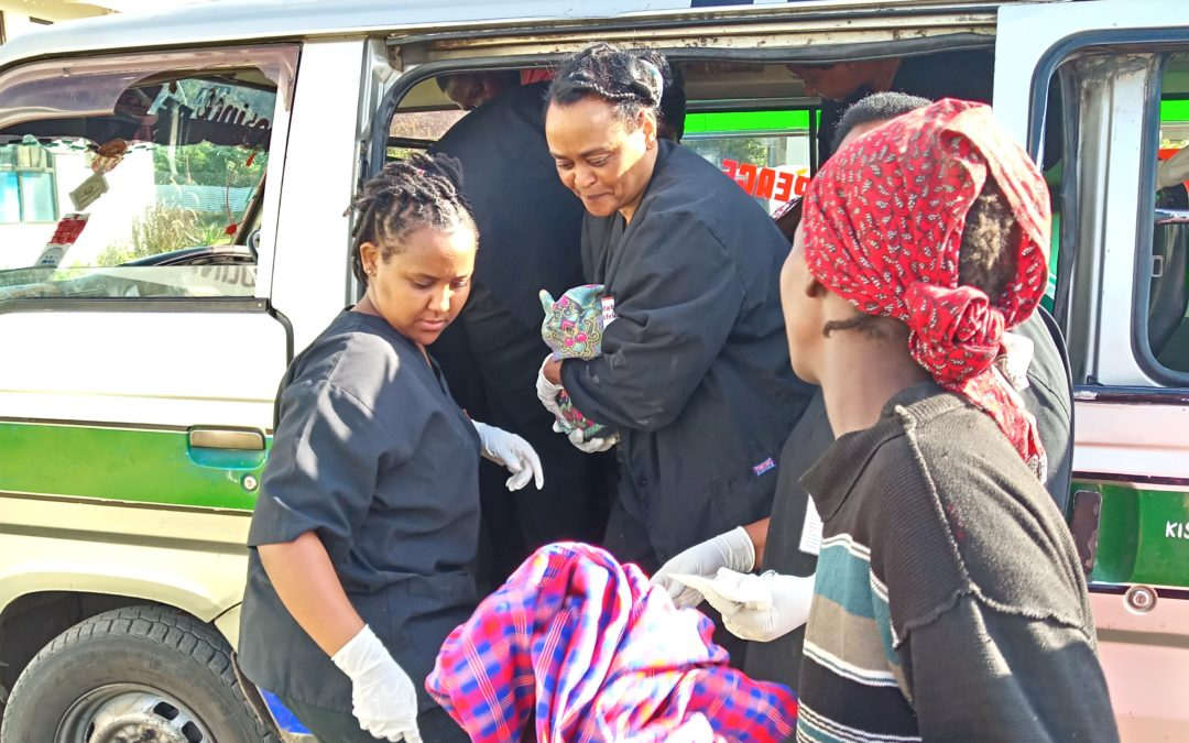 Bertha's beautiful baby born on a busy bus