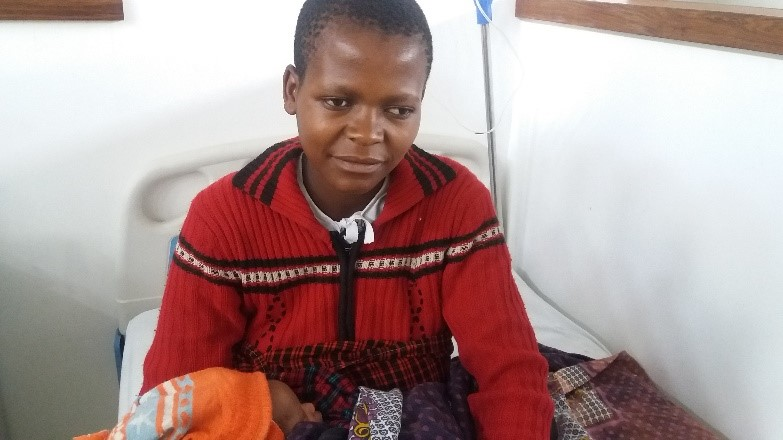Former fistula patient delivers healthy baby girl