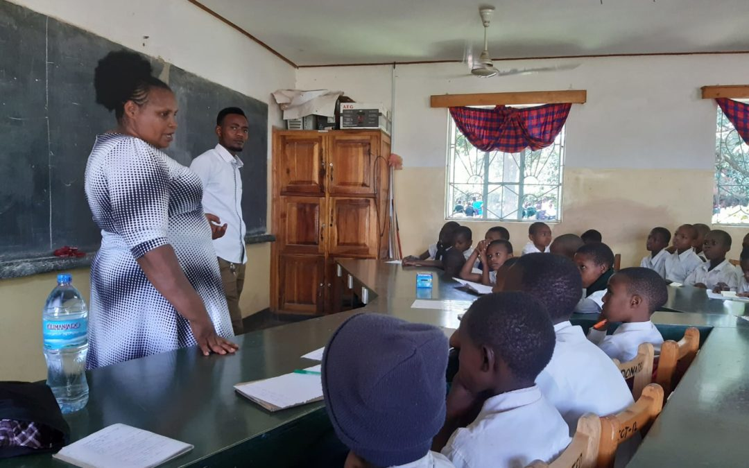 Maternity Africa's midwives educate youngsters about sexual and reproductive health