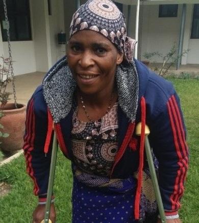 Amina – 22 years with fistula
